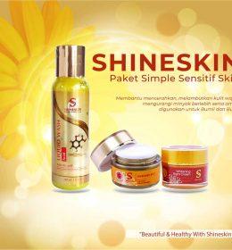 shineskin paket sensitif skin