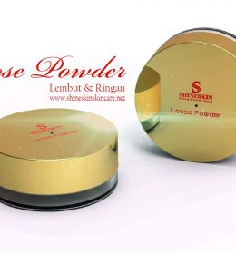 Loose powder shineskin