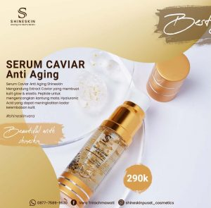 Serum caviar anti aging shineskin